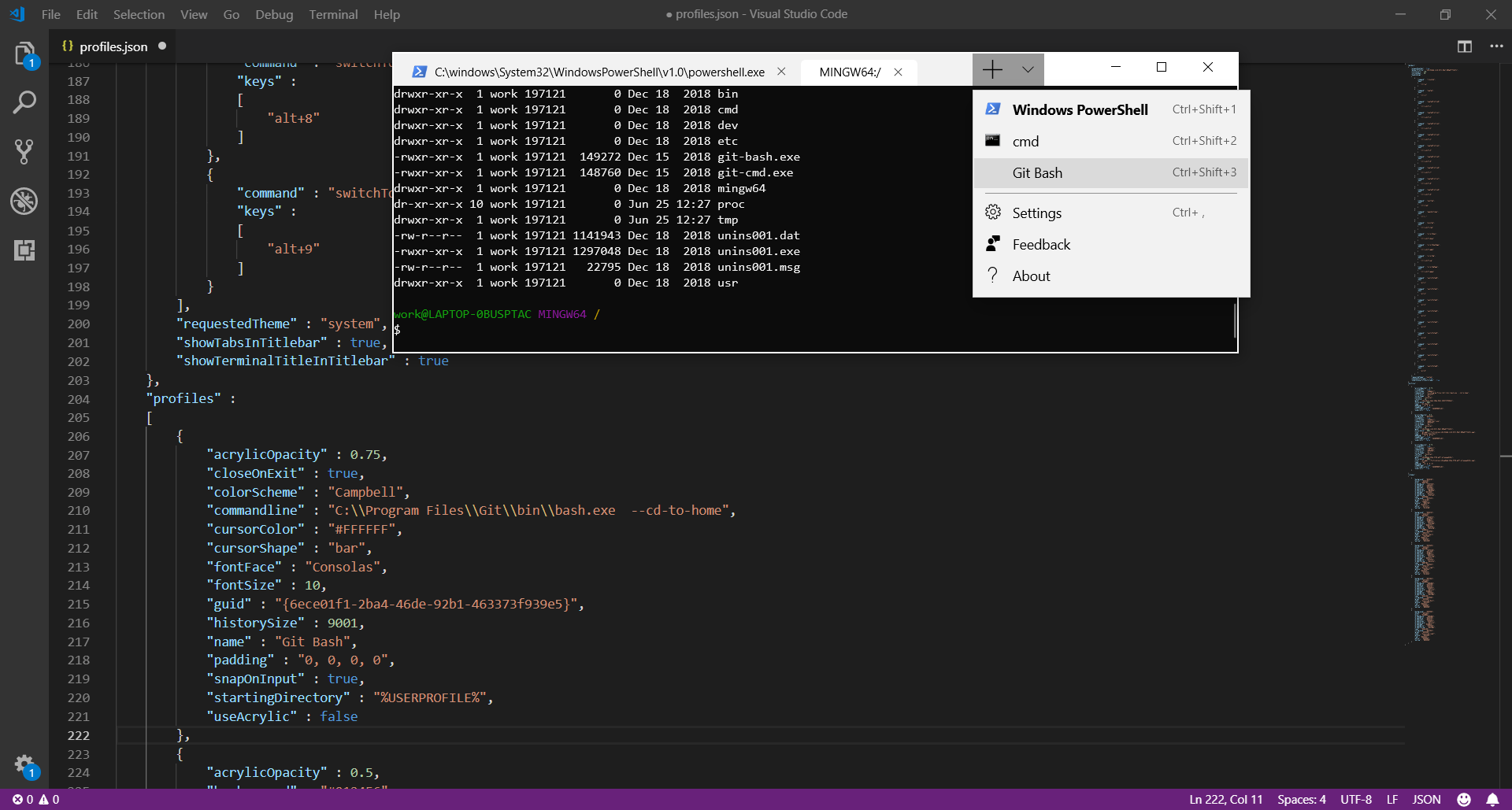 Add Git Bash to Windows Terminal (Preview) | Tier7 Blog